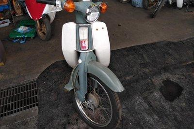VERKOCHT! Honda C50 OT, 1202km