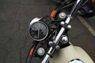 GERESERVEERD! Honda FTR223, Beige, 14949km