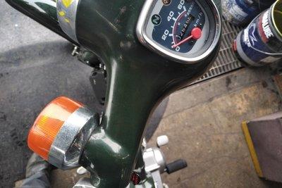 VERWACHT! Honda C50 NT, 2646km