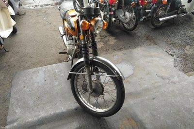 GERESERVEERD! Honda CB50, Goud, 10808km