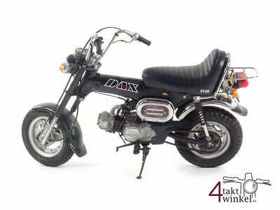 Honda ST50M Dax, Zwart, 14625km