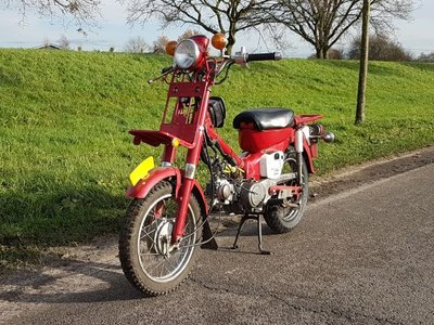 Opslag, Honda MD50, origineel Honda! Met kenteken!