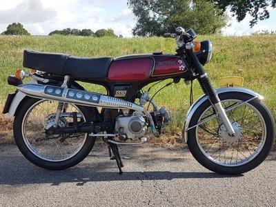 VERKOCHT ! Honda SS50, jubileum uitvoering, 1978