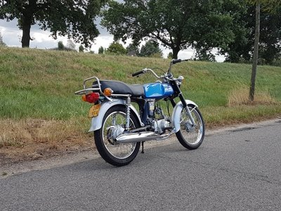 VERKOCHT ! Honda SS50, gerestaureerd