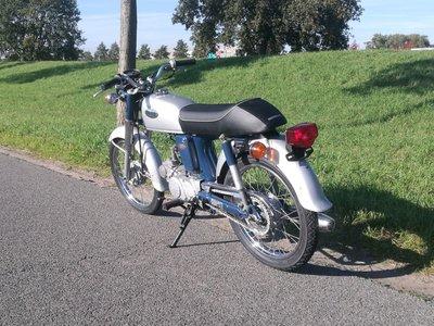 VERKOCHT! Honda CD50 Benly, 50cc, (2)