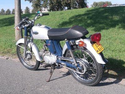 VERKOCHT ! Honda CD50 Benly, 50cc, (1)