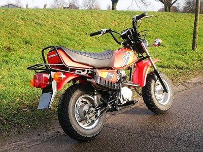 VERKOCHT ! Honda CY50, 1690km