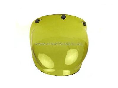 Vizier bubbel, geel