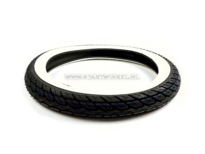 Buitenband 17 inch, Kenda K148, 2.75, whitewall