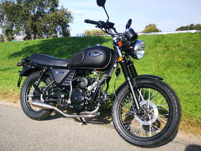 Uitlaat sportief, AGM Caferacer, Skyteam Classic, Kepspeed, RVS