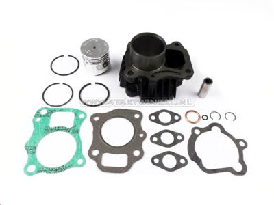Cilinderset, met zuiger & pakking 50cc, PC50, Novio, Amigo