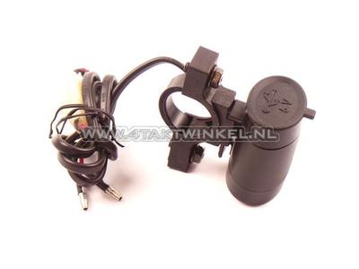 USB lader voor 12 volt brommer