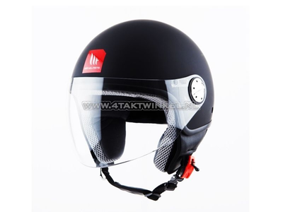 Helm MT, Zyclo, Mat Zwart, Maten S t/m XL
