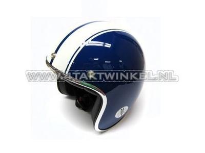 Helm MT, Le Mans Speed Blauw, Maten S t/m XL