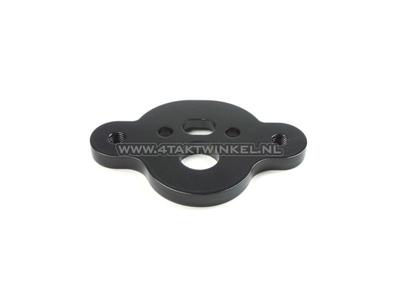 Kroonplaat C50, voor risers / stuurklemmen, zwart