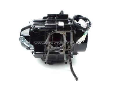 Motorblok, onderblok, handkoppeling, Lifan, 4-bak, zwart