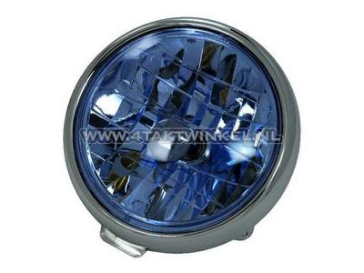 Koplampunit Dax 3-bout diamond, blauw