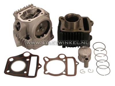 Cilinderset, met zuiger & pakking & cilinderkop 50cc, AGM, Skyteam, Honda NT