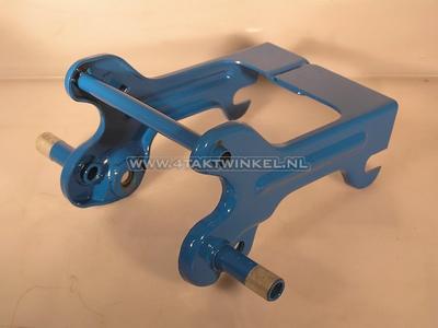 Buddy steun C50 OT Z2 smal frame blauw, origineel Honda