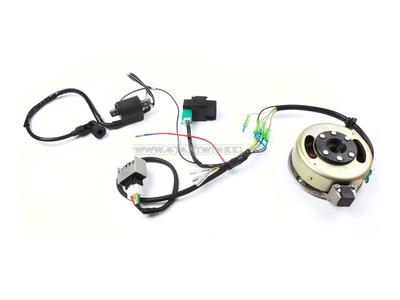 CDI ontsteking ombouw set & 12 volt elektra SS50, CD50, C50, C70, ST50, ST70, Dax