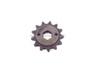 Voortandwiel, 415 ketting, 17mm as, 13, C310, PC50, PS50