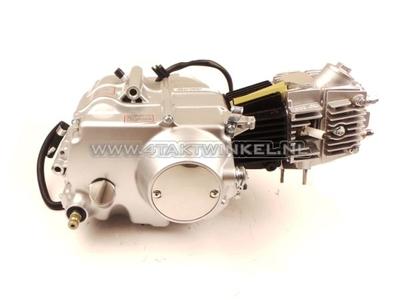 Motorblok,  85cc, handkoppeling, Lifan, 4-bak, zilver