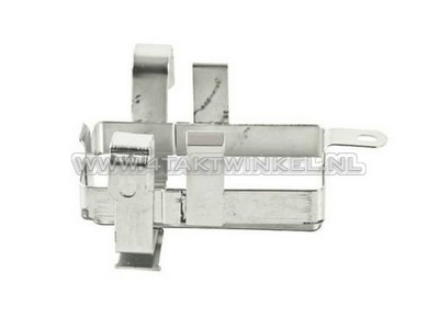 Accu houder bakje Dax 12 volt imitatie standaard frame