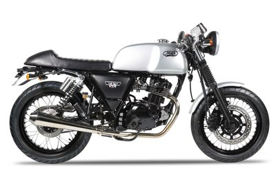 Mash Caferacer 125cc zilver