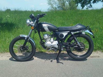 Mash Fifty Mat Zwart, 50cc, Gebruikt