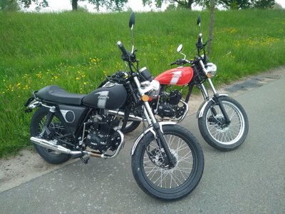 VERKOCHT! Mash Fifty, 50cc, Euro 4, demo