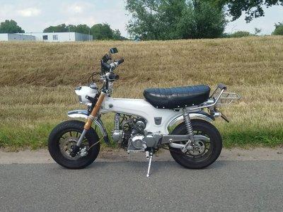 Skyteam Dax 70cc, Wit, 8460km