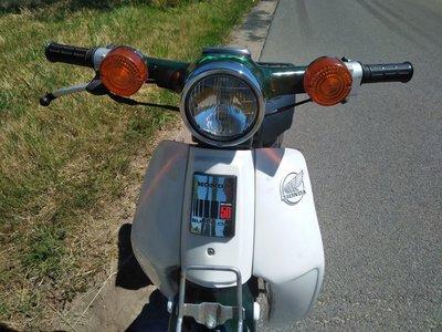 Honda C50 NT Japans (09-2019) 3994 km