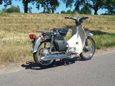 Honda C90 K1 Japans, 10218 km, met kenteken!