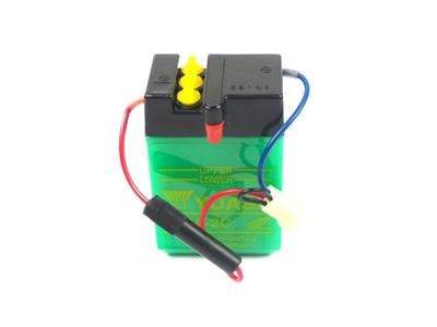 Accu 6 volt 2 ampere , Dax ,NOS, origineel Honda