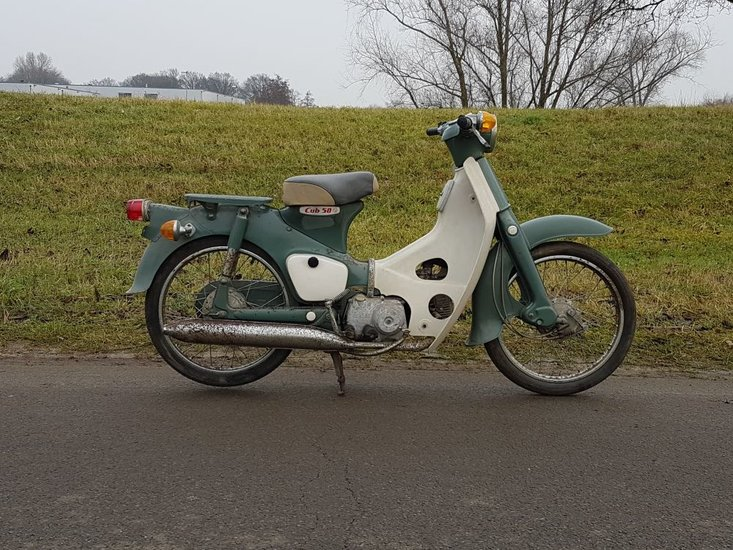 Honda-C50-OT-Japans-(13),-bijzonder-vroege-uitvoering!-1967!
