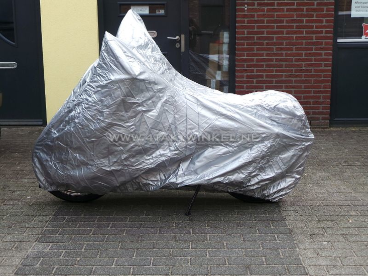 Beschermhoes-XL,-o.a.-Mash-Fifty,-zilver