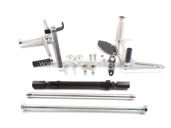 Backstep-set,-C50,-C70,-C90,-streetcub,-Kepspeed,-aluminium