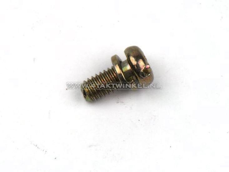 Bout-kruiskop-m4-x-09,-met-ring,-o.a.-contactpunten,-origineel-Honda