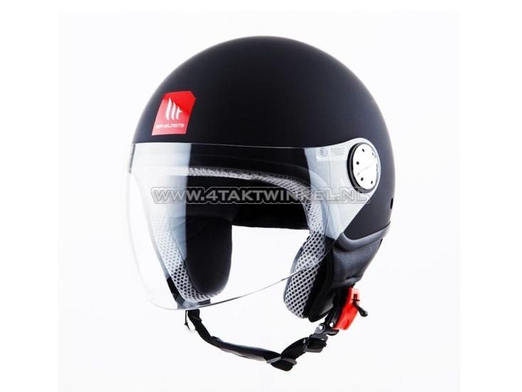 Helm-MT,-Zyclo,-Mat-Zwart,-Maten-S-t/m-XL