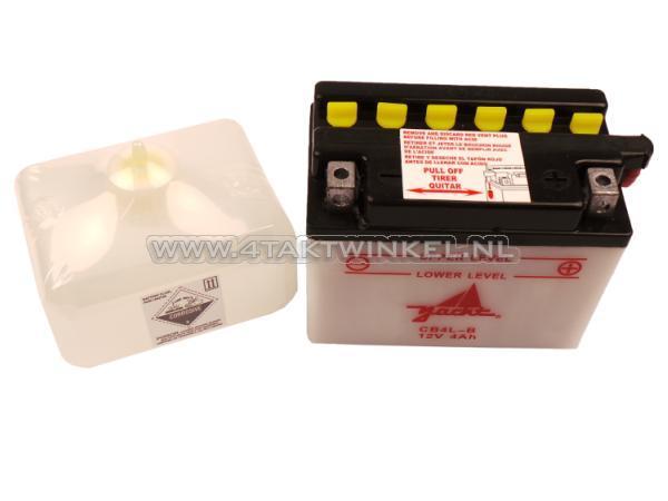 Accu-12-volt-4-ampere-zuur,-CB4L-B