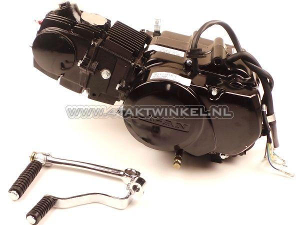 Motorblok,-107cc,-handkoppeling,-Lifan,-4-bak,-zwart