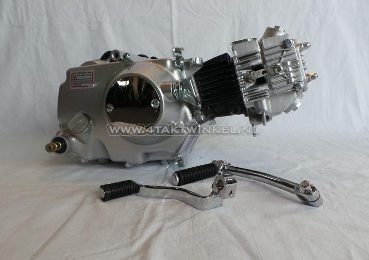 Motorblok,--50cc,-handkoppeling,-Lifan,-4-bak,-zilver