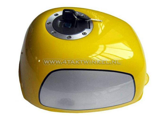 Tank,-Gorilla,-verzonken-tankdop,-geel