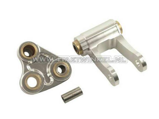 Achterbrug-Ape,-schokbreker-montage-set,-aluminium