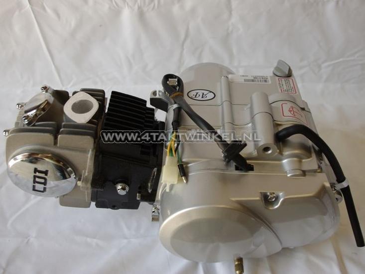 Motorblok,-125cc,-handkoppeling,-Lifan,-4-bak,-zilver