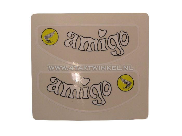 Sticker-Amigo-frame-buis,-set
