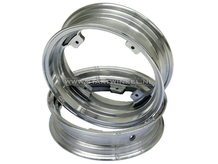 "Velg-set-Dax,-12""-aluminium,-tubeless,-2.75-/-3.50,-Zwart"