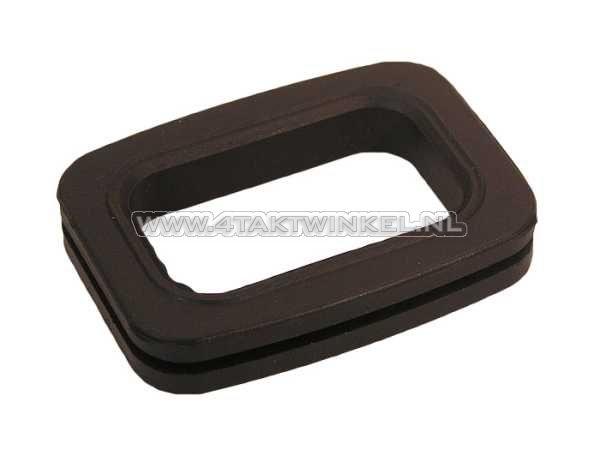 Luchtfilterhuis-rubber,-C50,-C70,-C90,-onder-luchtfilter,-origineel-Honda,-NOS