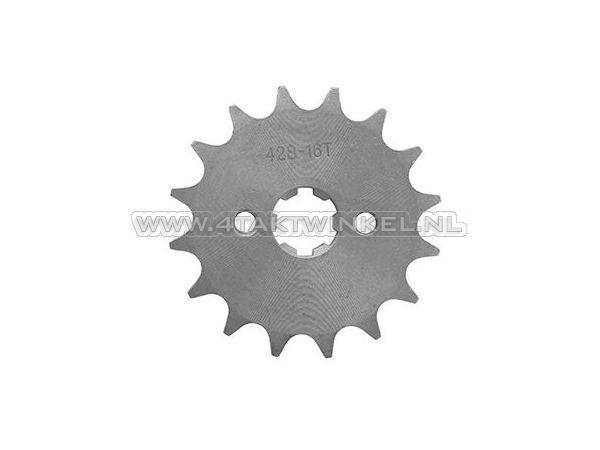 Voortandwiel,-428-ketting,-17mm-as,-16,-Mash-/-AGM