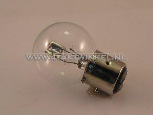 Koplamp-BA21D,-duplo,--6-volt,-15-15-watt,-Dax-3-poot